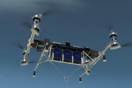 Грузовые дроны Boeing способны поднять в воздух не только посылку, но и бурого медведя