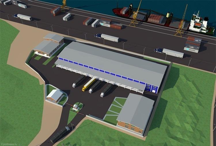 Новый резидент свободного порта Владивосток построит наострове Русском складской комплекс