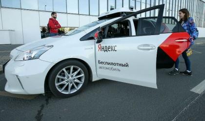 Уже в феврале московские автомобилисты смогут увидеть беспилотник в соседнем ряду