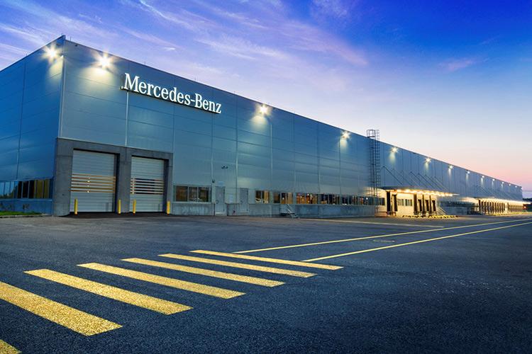 «Мерседес-Бенц» открыл склад в промышленном парке «PNK-Северное Шереметьево»