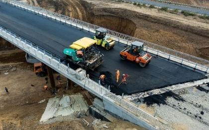 В Грузии начали строить транзитную альтернативу Военно-Грузинской трассе