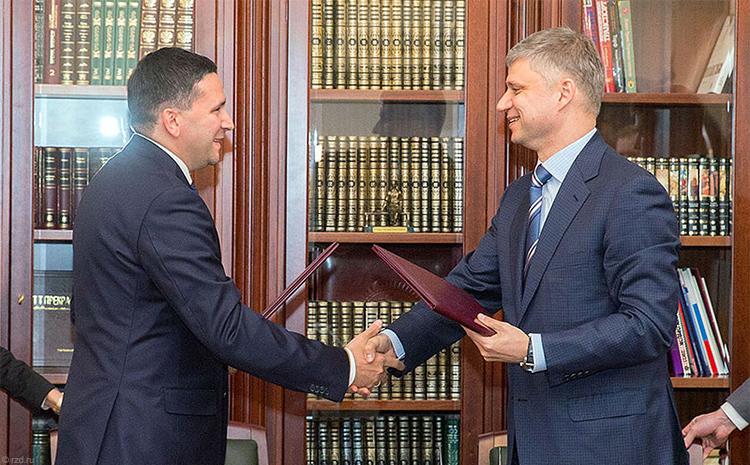 РЖД и руководство ЯНАО подписали соглашение остроительстве Северного широтного хода