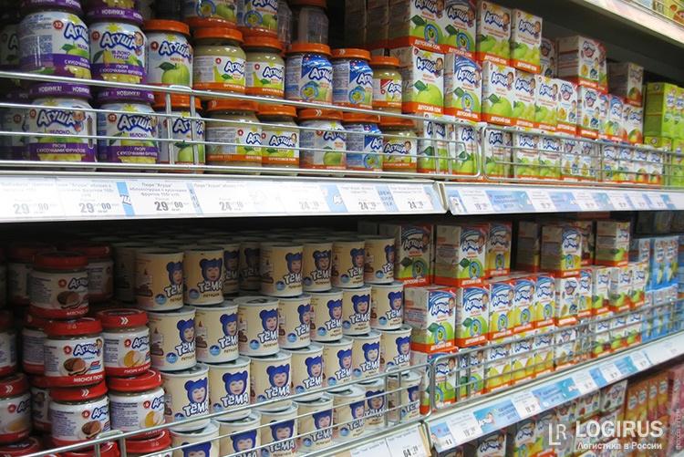 Руководство разрешило ввоз изсанкционных стран продуктов для детского питания