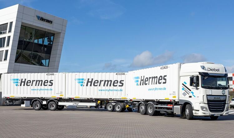 Размер имеет значение: Hermes удлиняет автопоезда