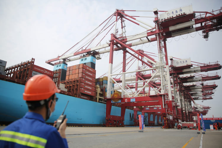 Китай «переэкспортил» Германию по поставкам продукции машиностроения