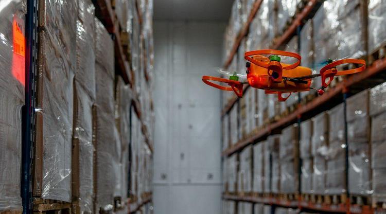 Складской налет: дроны UVL Robotics «пересчитали» все палеты Kuehne + Nagel