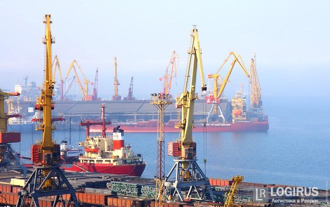 Впервые в этом году замечен рост объема транзитных грузов в портах