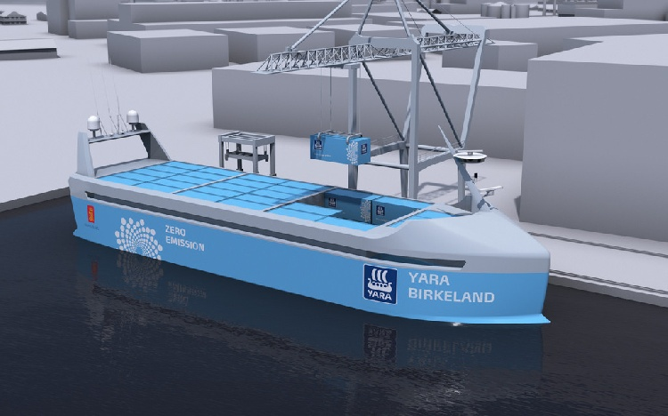 Пока британцы и японцы только планируют, норвежцы уже будут бороздить на беспилотных морских судах