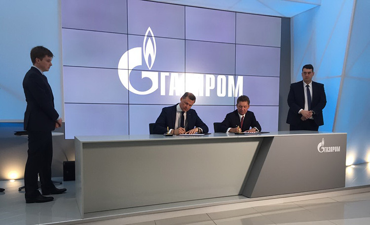 «Газпром» переведет парк автомобилей Почты Российской Федерации вТатарстане нагазомоторное горючее